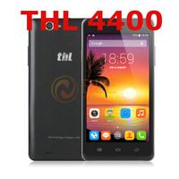 "original 5.0"" Corning III gorilla glass THL 4400  MTK6582 quad core 1GB RAM 4GB ROM 8.0MP 3G WCDMA android smart phone"