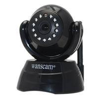 Hot P2P Wireless Cam WiFi Security Surveillance Monitor Network Internet Pan Tilt CCTV IP Camera Webcam Motion Detect Free DDNS