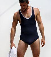 Muscle Men Bodybuilding Tank Top Top Quality Modal Men's Vest + Underwear Fitness Mens Gym Clothing singlet