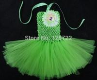 hot selling colorful handmade above-knee girls tulle TuTu dress flower girl tulle tutu dress free shipping 10pcs/lot