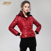 2014 winter fashion short slim women down jacket down coat