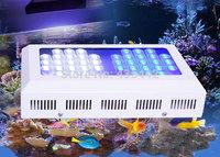 Best selling Freeshipping 120w Marine led aquarium light Module Design 42x3w AquariumLEDs for coral reef growing tank ,Dropship