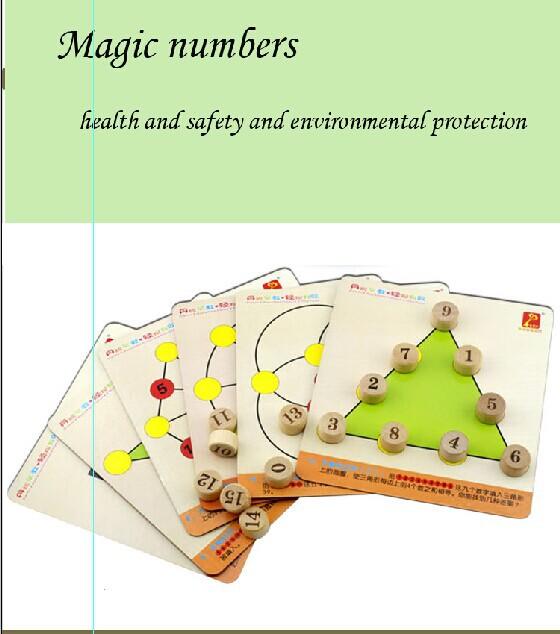 Free Shipping Magic digital logic puzzle toy game intellectual development(China (Mainland))