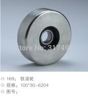 Elevators driver roller , Escalators driver roller wheel 100*30*6204 steel