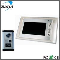 Free shipping! 7 inch multi apartment video door phone intercom system