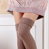 New Style Stockings thigh cuffs stovepipe socks knee socks warm sock