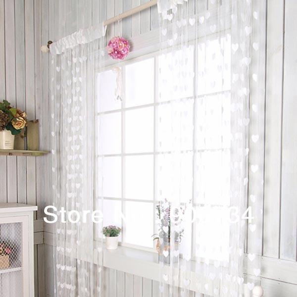 Tassel cadeia porta cortina branco decoração da janela cortina(China (Mainland))
