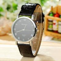 Fashion Womage Women Dress Watches PU Leather Strap Watch Women Wristwatches