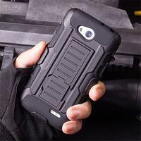 Future Armor Impact Hard Case Belt Clip + Holster for LG Optimus L90 D405 D410 D415 Mobile Phone Cases + Flim + Stylus