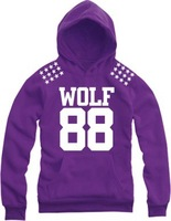 2014 New Autumn and Winter Exo Xoxo Kiss Hug Wolf 88 Long-sleeve Sweatshirt Fashion Hip Hop Hoodies Thick Fleece Hoodies