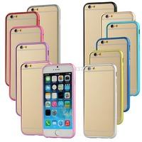 "5.5"" Ultra Thin Aluminum Metal Bumper Case Frame Cover For iPhone 6 Plus CN169 P"