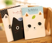 New Arrival  Memo pad Cartooon   Cat Cute Notepad Korea Design Notebook F1410183212 Free Fedex Shipping