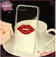 2014 New Rhinestone Diamond Case Back Cover Skin Case Transparent Protector Case For Samsung Galaxy Core 2 g355h