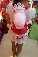 Frozen Backpack Mochila Escolar Mochilas Infantis Peppa Pig Pepe The Piggy George Plush Toys Kindergarten Children Bag Backpack