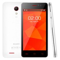 Original BLUBOO X4 4.5'' 854 x 480 4G FDD LTE Mobile Phone 1G 4G Android 4.4 MTK6582 Quad Core 5MP Camera 3G WCDMA