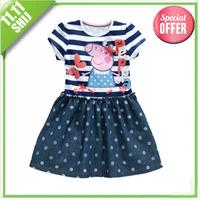 11.11 wholesale 2014 Christmas kid party tutu cake dress 3~11age wholesale girls apparel 5pcs/lot