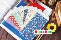 New 5pcs/Set fasion flower life dots style Stationery envelopes / nice paper envelope / Wholesale