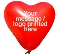 "200pcs 2g 12"" 12"" 2g latex heart balloon Custom-Printed Balloons for Advertising Balloons printing logo Wedding Party"