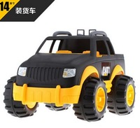 14 inches the biggest sizes  SUV, cross vehicle .CAT truck toys .juguetes kids boy toys car brinquedos
