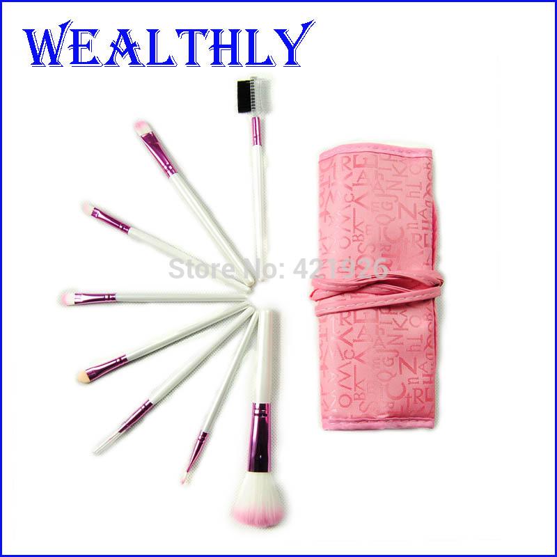 Кисти для макияжа OEM 8Pcs Eyeline WH000010 кисти для макияжа oem 10 b hj0038 a5