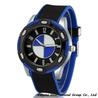 New Arrival  2014 Brand Quartz Men Sports Watch Military Casual Watches Wristwatch Dropship Silicone
