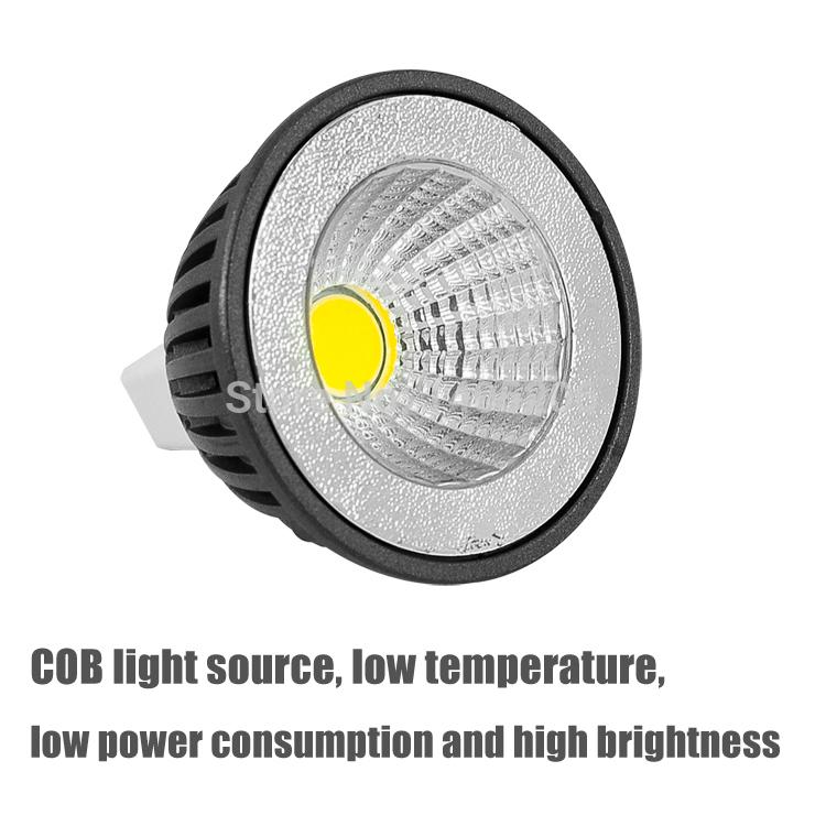 New Product LED COB Spotlight 3W GU10 High Bright 350lm (MR16/E27) AC85-265V CE&ROHS New generation light source.Free shipping!(China (Mainland))