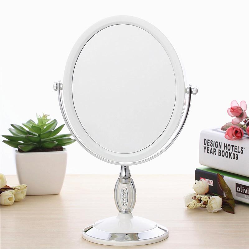 makeup dressing table vanity mirror makeup vanity portable fashion portable beauty princess dressing mirror(China (Mainland))
