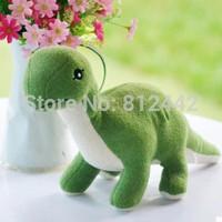 FREE SHIPPING 40cm Christmas Gift Birthday Souvenir Green Dinosaur Plush Toy Soft Kawaii Cute Doll Stuffed Animal brinquedo Kid