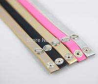 2014 Hot Sale Five Colors Leather Bands for Wrap Leather Bracelets 10pcs/lot PU-001-PU-005