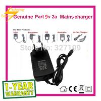 9V 2A AC  DC Power Supply Adapter  Wall Charger For CUBE iwork8 iwork10 u80gt US / EU /AU /UK Plug Free Shipping