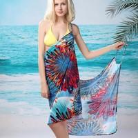 New 2014 Fashion Women's Backless Bikini Swimwear Beach Cover Up Women,Sexy  Bathing Suit Cover Ups