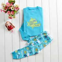 kid pajama sets Long-Sleeve clothing sets Animals clothing set pyjamas kids boys clothing sets 2~7 years Free shipping