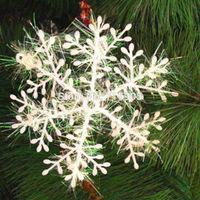 Christmas Decoration Supplies Snowflake Christmas Hanging Decoration Size S: 11cmx11cm 10PCS/lot