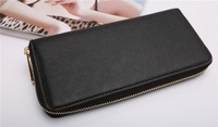10pcs new 2014 wallets luxury double zipper long design Michaells  wallet purse bag brand wallet drop shipping16