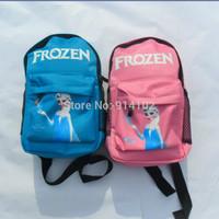 New Mini Baby Girls backpacks Frozen Cartoon school bag Elsa&Anna Little satchels Kids Girl student Bags Drop Shipping