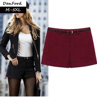 2014 New Brand  Women Plus Size Shorts Pockets Fashion Shorts for Women  DFK-001