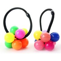 BA-14 Free shipping Wholesale/ Rabbit shape elastic circles Top-grade elastic hair bands Attractive kids headbands