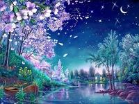 Romantic cherry blossoms Diy Diamond Flower diamond Cross Stitch 3d Full Square Rhinestone Painting Room Deco Unfinish 60x80