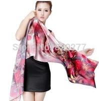 Shanghai Story   female autumn and winter long silk scarf silk scarf  wj301