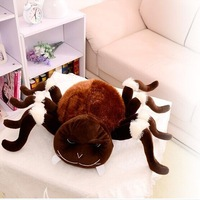 whimsy plush spider toy brown spider doll creative spider doll gift doll about 55x80cm