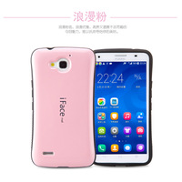 Hot iFace soft TPU back cover case Ultra Shock-Absorbing  Protect for Huawei Honor 3X G750 + free shipping