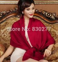Shanghai Story   female  Pure wool twill scarf    wj302