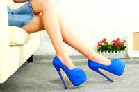 2014 Red Bottoms High Heels Large Size Women Pumps Shoes Platform  plus Size   40   41   42   43   44   45   46