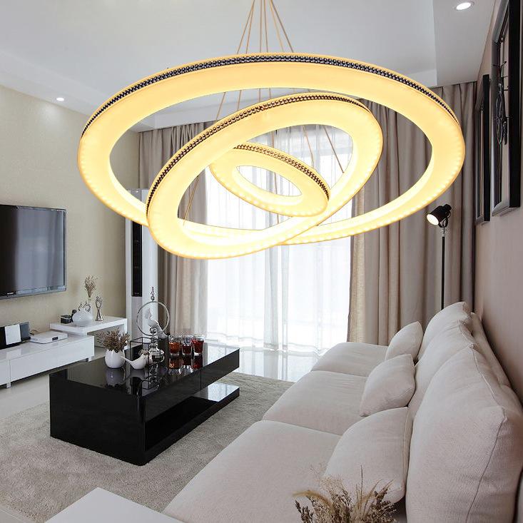 modernHada Man LED crystal chandelier modern minimalist restaurant with creative living room chandelier lighting lamps befree sh(China (Mainland))