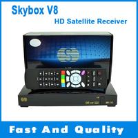 Original Skybox V8 HD DVB-S2 Satellite TV Receiver S-V8 support 2USB USB Wifi WEB TV Cccamd Newcamd YouTube YouPorn Weather