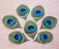 50pcs/lot 6cm natural real trim peacock tail eyes plume feathers bulk sale wedding invitation headwear jewelry craft making DIY