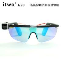 Itwo g20 wearable intelligent glasses camera recorder 1080p hd wireless wifi remote control