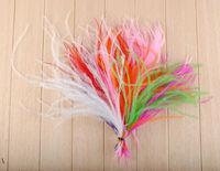 1000pcs Wholesale color mix 10-15cm / 4-6 inch ostrich plumes feathers for bulk sale wedding decoration costumes dress making