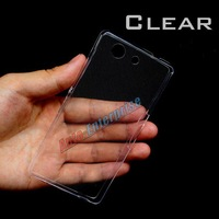 Ultra thin 0.3 Crystal Clear soft TPU Case Cover For SONY Xperia Z3 Mini Compact