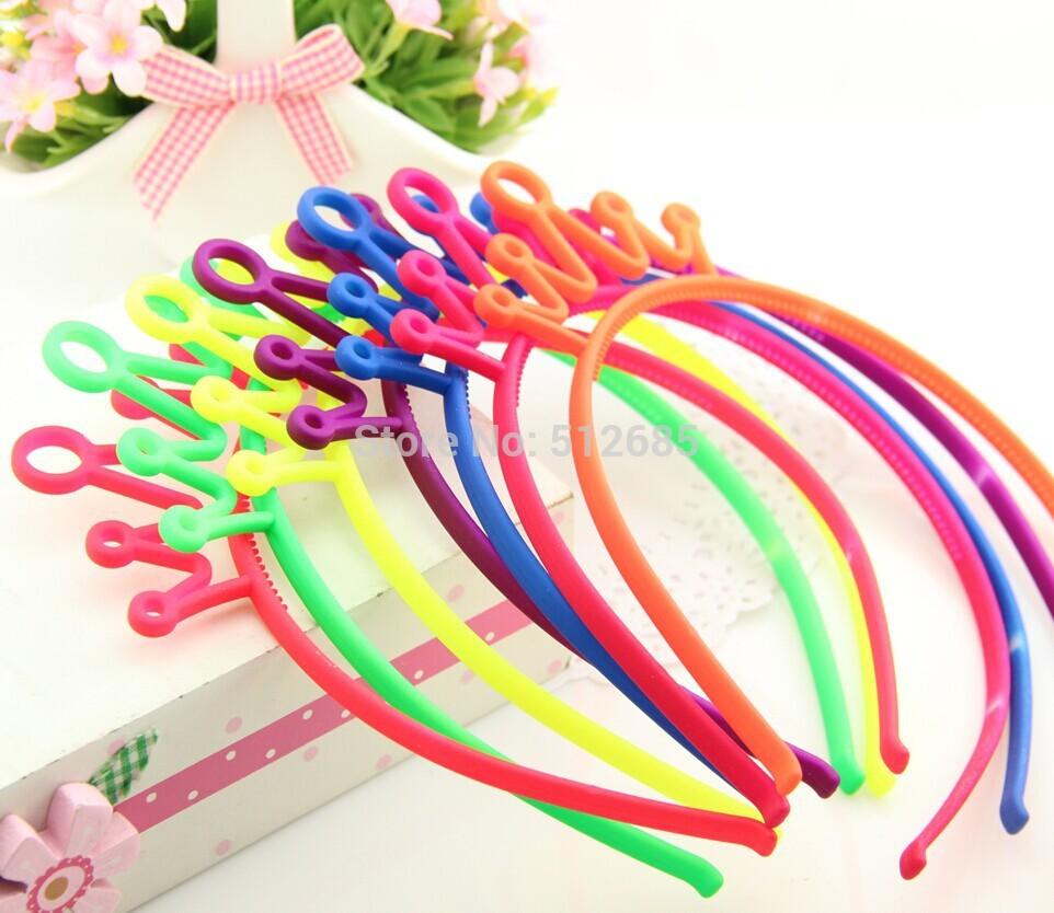 Baño Fluorescente Ninos: princesa/bebé fluorescente plástico Crown Accesorios venda/del pelo